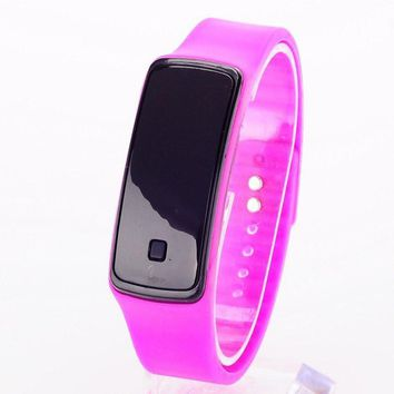 New Silicone Watchband Women/Men LED Digital Screen Watch Dress Sports Watches Fashion Outdoor Wristwatches