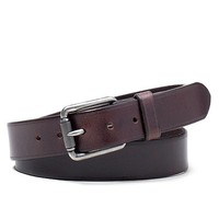 Distressed Roller Buckle Belt - Brooks Brothers