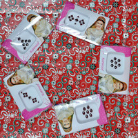 Fancy designer indian bollywood bindis buy 5 fancy multi designs & multi color packets as per photo shown.your choice.