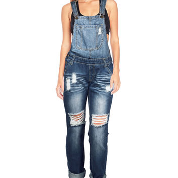 Revival Denim Overalls