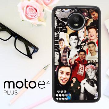 Shawn Mendes Collage Y1146 Motorola Moto E4 Plus Case