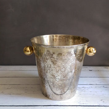 Gelb France Champagne Bucket/ French Art Deco Champagne Bucket/ French Champagne Bucket/ Gelb of France/ French Antique Champagne Bucket