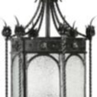 One Kings Lane - John Salibello Antiques - Mizner-Style Iron Lantern