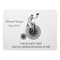 Model T Penny Farthing Classic -Proud Parents Baby Blanket