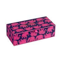 Lilly Pulitzer Small Glass Storage Box