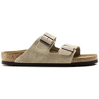 Birkenstock Arizona Suede Leather Taupe 0051461/0051463 Sandals