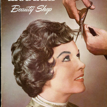 Modern Beauty Shop Magazine, Lot of Three Vintage Hair Salon Periodicals, published 1959, 1963 & 1965
