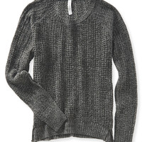 Aeropostale  Open Knit Raglan Sweater