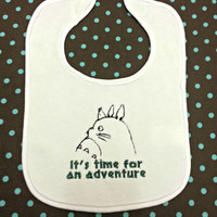 My Neighbor Totoro Inspired Baby Bib