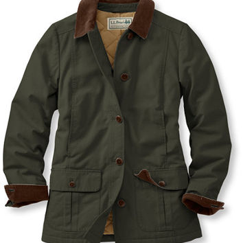 Adirondack Barn Coat, Insulated: Casual Jackets | Free Shipping at L.L.Bean