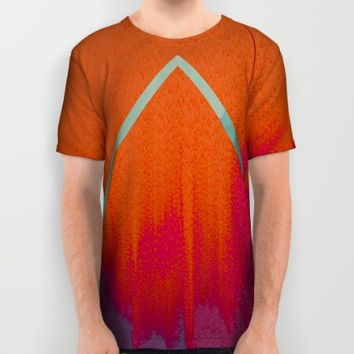 Clear as Day All Over Print Shirt by Ducky B