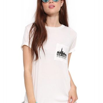 New York In my pocket Tee Shirt
