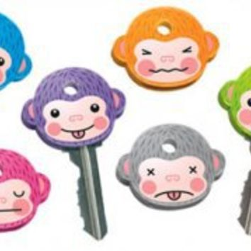 MonKEYS Rubber Key Covers