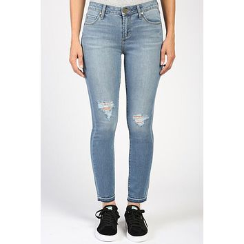 Articles Of Society Crop Jeans - Blue