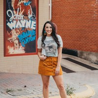 "Gina ""George Strait Gilley Poster"" Tee"