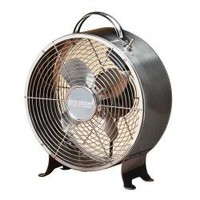 Deco Breeze DBF0641 9-inch Stainless Steel Retro Fan | Overstock.com