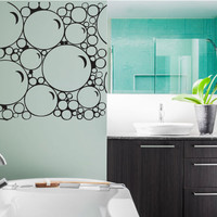 Bubbles Vinyl Wall Decal Sticker Graphic