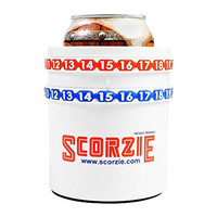Scorzie the Only Koozie That Keeps Score (Classic) Perfect Score Keeper for Various Lawn Games Including Kan Jam Corn Hole Poleish Horseshoes Flimsee and Also At Your Child's Soccer or Baseball Games