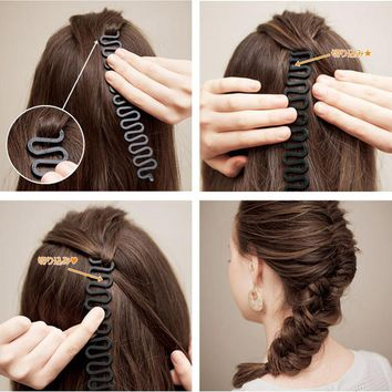 Hair Styling Tools updo fashion up hair accessories hair dresser French Braid