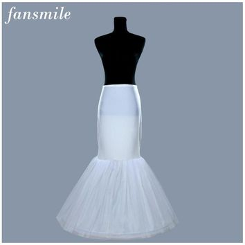 2015 High Quality Mermaid Bridal Wedding Petticoat Free shipping Bridal Gown Underskirt for Wedding Crinoline Slip Accessories