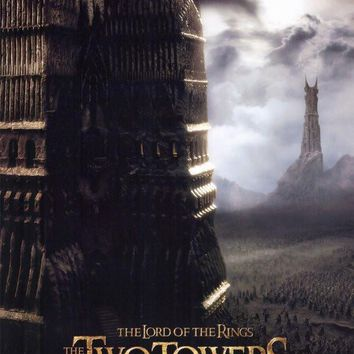 Lord of the Rings: The Two Towers 11x17 Movie Poster (2002)