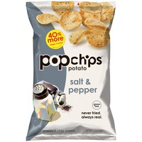 Order Popchips Potato Popped Chip Snack, Salt and Pepper   Fast Delivery