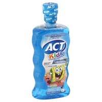 ACT® Anticavity Kids 16.9 oz. Sponge Bob Mouthwash in Ocean Berry Flavor