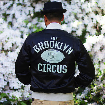 Shop — BKc Hat Shop — BKc Satin Varsity Jacket Black (restock) | The BKc