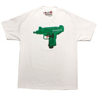 WATERGUN UZI WHITE TEE – Odd Future