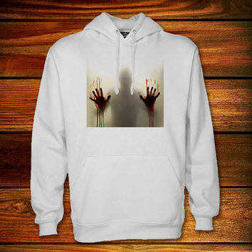 the-walking-dead 5 Hoodie,the-walking-dead 5 Sweater Black and White