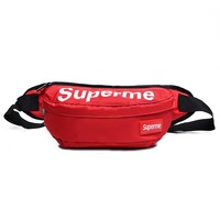 Men's and Women's Supreme Chest Pockets Oxford Casual Riding Bag  055