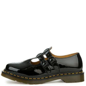 MDIGH3W Women's 8065 Mary Jane Black Patent Oxford