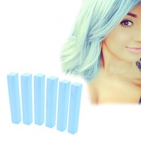 CELESTINE - Light Blue Hair Dye | HairChalk Set of 6
