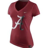 Nike Women's Alabama Crimson Tide Crimson Platinum Dri-Blend T-Shirt | DICK'S Sporting Goods