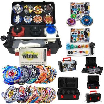 With Original Package Beyblade Set Metal Fusion 4D Launcher Beyblade set Spinning Top set Kids Game Toys Children Christmas Gift