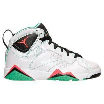 LMFIW1 Girls' Grade School Air Jordan Retro 7 (3.5y-9.5y) Basketball Shoes