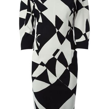 DCCKIN3 By Malene Birger 'Teash' printed dress