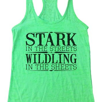 Stark In The Streets Wildling In The Sheets Burnout Tank Top By Womens Tank Tops
