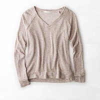 AEO FEATHER LIGHT V-NECK SWEATER
