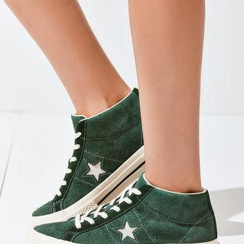 converse cons one star pro suede mid top sneaker urban outfitters