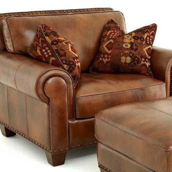 Steve Silver Company Silverado Chair with 2 Accent Pillows