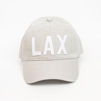 Aviate Baseball Hat - Los Angeles - Grey