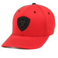 Ariat Shield Logo Red FlexFit Cap