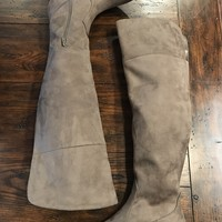 RBL Taupe Over The Knee Boots