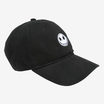 The Nightmare Before Christmas Jack Face Dad Cap