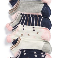 Tucker + Tate Assorted 6-Pack Socks (Toddler, Little Kid & Big Kid) | Nordstrom