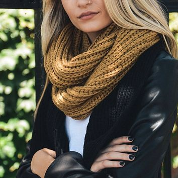 analise - chunky braided infinity scarf - more colors