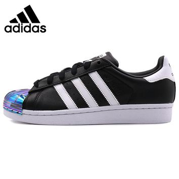 Original New Arrival 2018 Adidas Originals SuperstarMT W Women's Skateboarding Shoes Sneakers