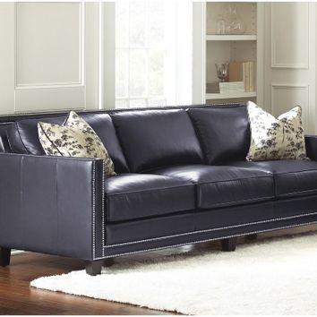 Steve Silver Hendrix Sofa with 2 Accent Pillows | www.hayneedle.com