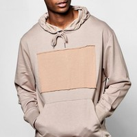 Oversized Over The Head Hoodie With Patch | Boohoo